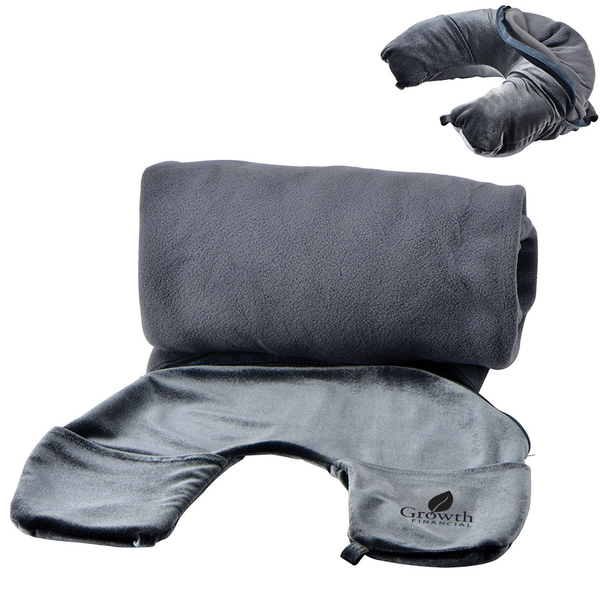 Ultimate Travel Companion Pillow & Blanket