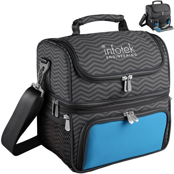 Pranzo Picnic Insulated Cooler Set - Waves Collection