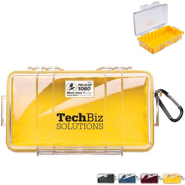 Pelican™ 1060 Waterproof Micro Case w/ Clear Lid