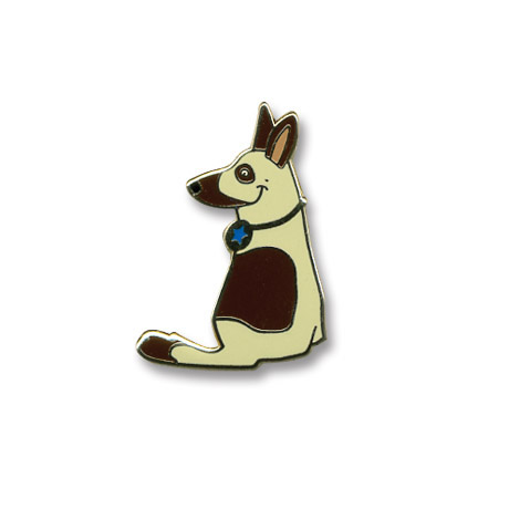 K-9 Police Dog Lapel Pin, Stock - On Sale, Closeout!