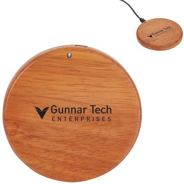 Bora Wooden Wireless Charging Pad, 5W