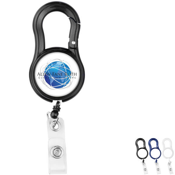Carabiner Tape Measure Retractable Badge Reel