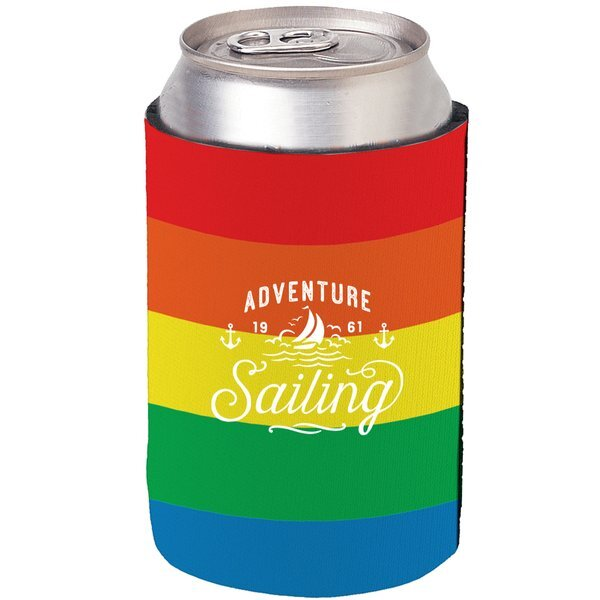 Rainbow Kan-Tastic Can Cooler