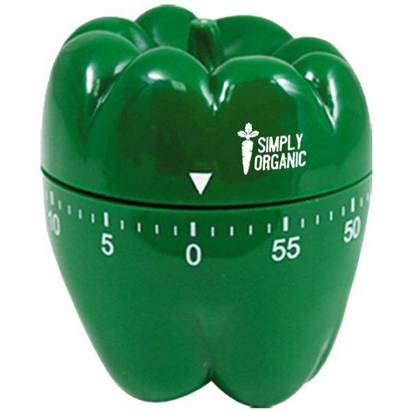 Green Pepper 60 Minute Kitchen Timer