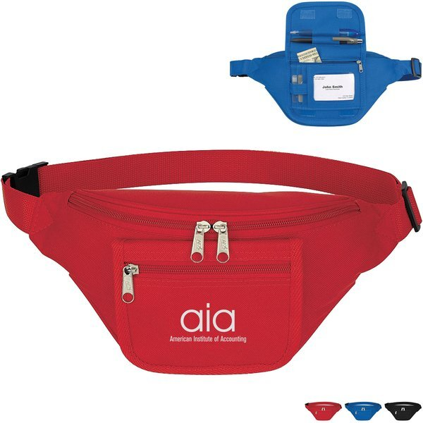 Fanny Pack with Front Flap Organizer