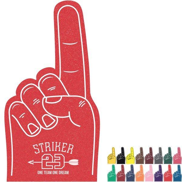 """Foam Finger #1 Hand Mitt, 12"""""""