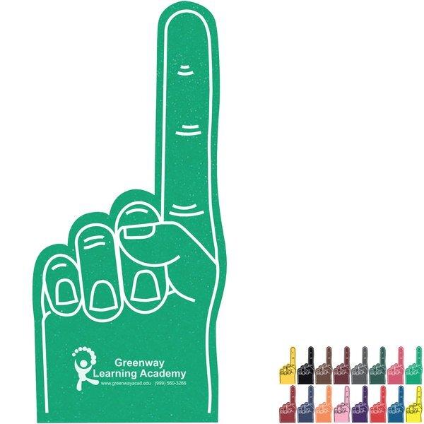 """Foam Finger #1 Hand Mitt, 16"""""""