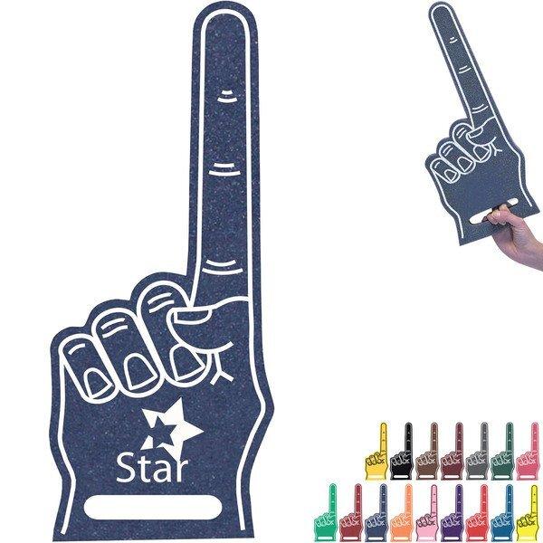"""Foam Finger #1 Hand w/ Handle, 17"""""""
