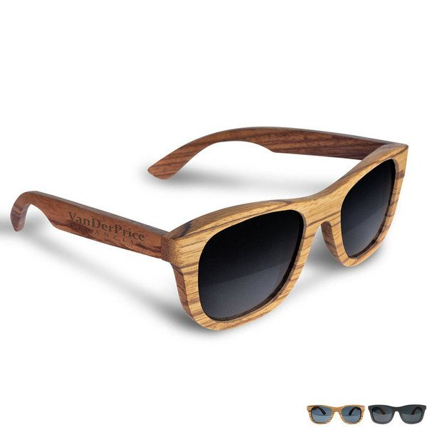 Beach Eyes™ Wood Sunglasses