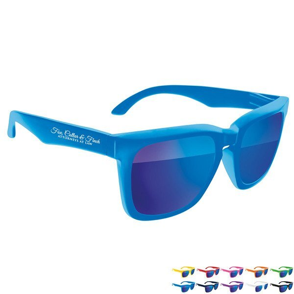 Risky Bold Mirrored Sunglasses