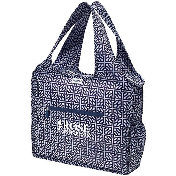 RuMe® All Zippered Tote Bag, Baker Pattern