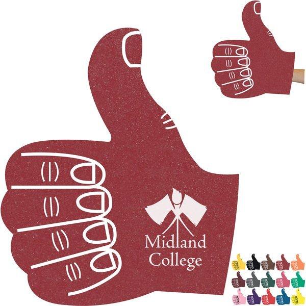 """Foam Thumbs Up Hand Mitt, 15"""""""