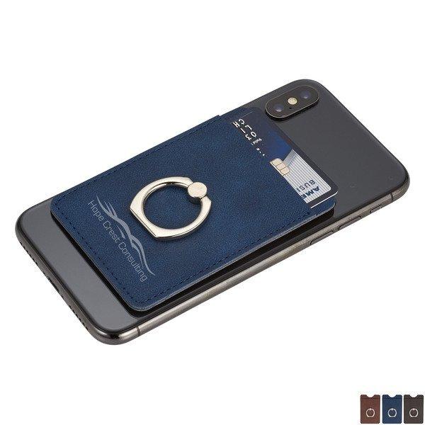 RFID Premium Phone Wallet w/ Ring Holder