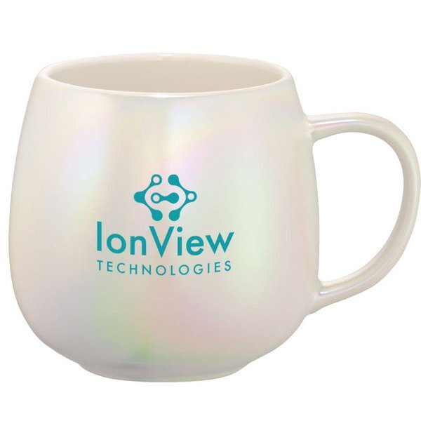 Iridescent Ceramic Mug, 15oz.