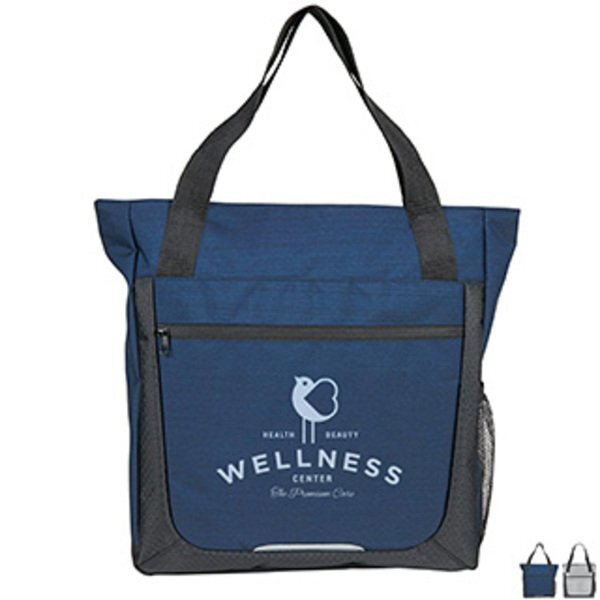 Essentials Large Polycanvas Zippered Tote