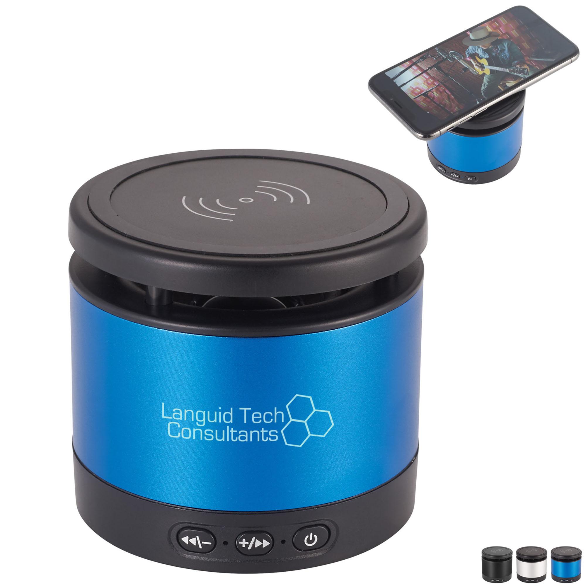 Metal Bluetooth Speaker & Wireless Charging Pad