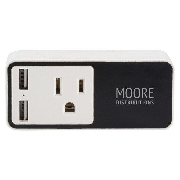 Light Up Logo Wifi Smart Plug w/ USB Output