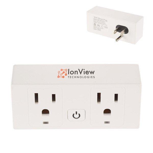 Double Outlet UL Wifi Smart Plug