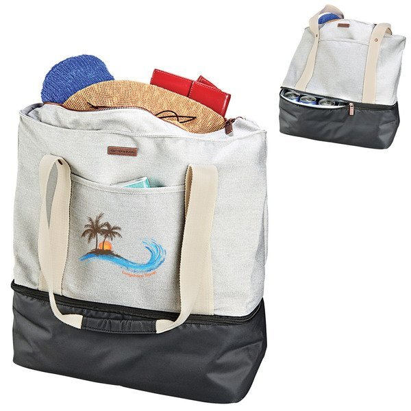 Cutter & Buck® 16oz. Cotton Canvas Boat Tote Cooler