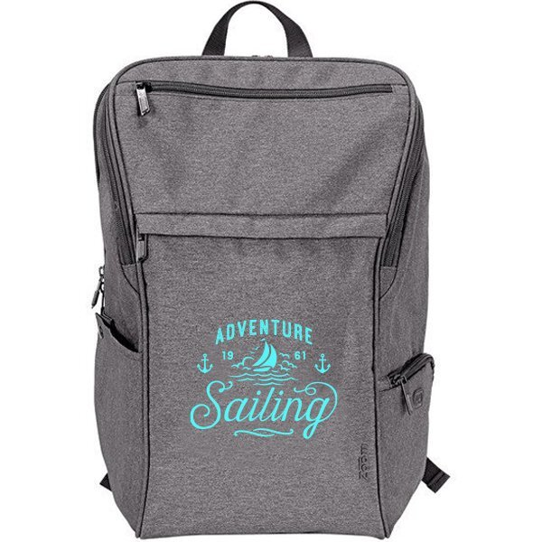 """Zoom™ Node Wireless Charging PolyCanvas 15"""" Computer Backpack"""