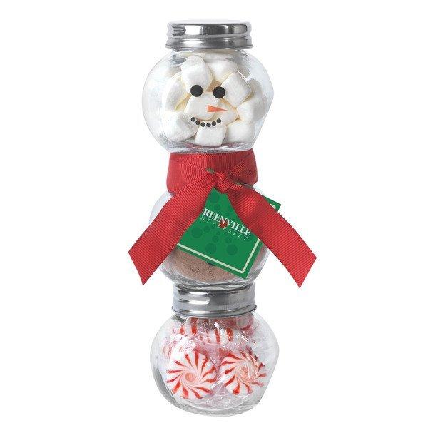 Hot Chocolate Snowman Kit
