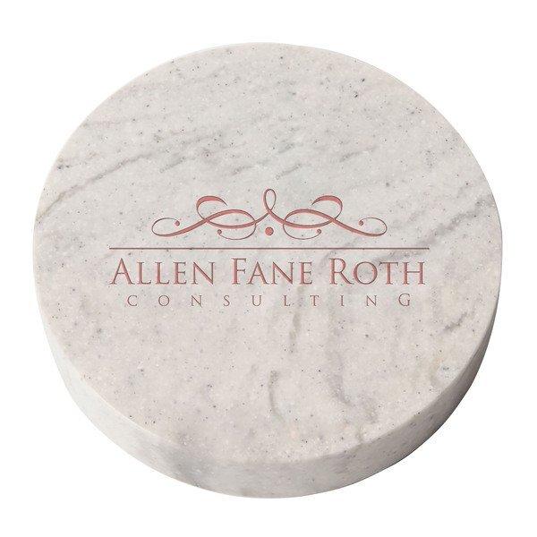 Round Stone Paperweight