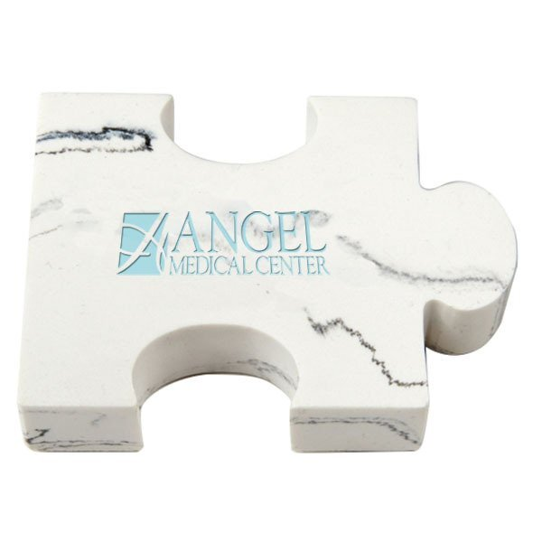 Puzzle Piece Stone Paperweight