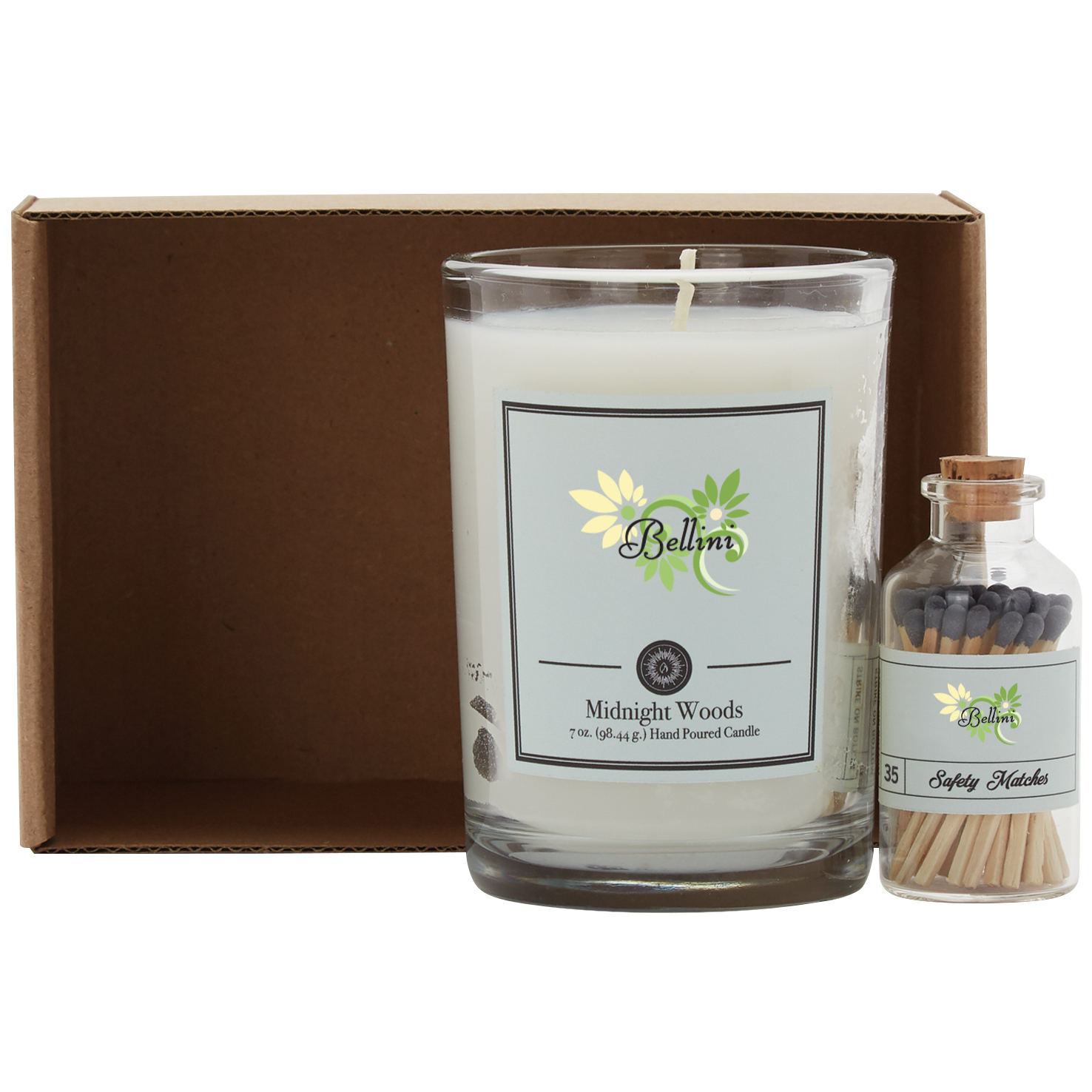 Ignite Candle & Matches Gift Set