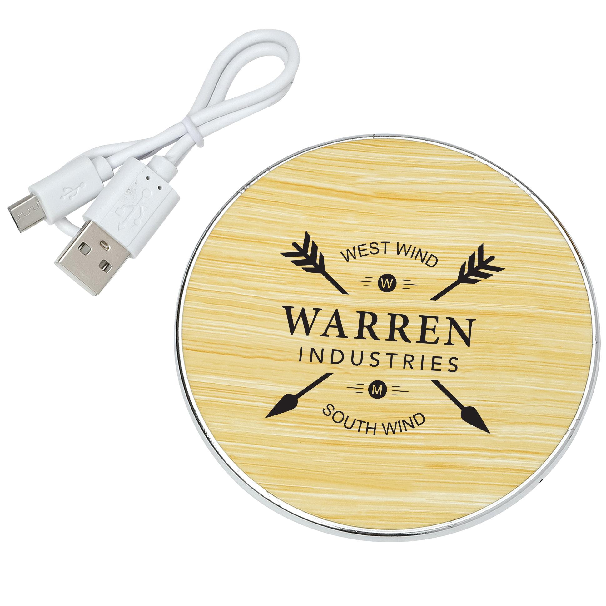 Rustic Wireless Charging Pad