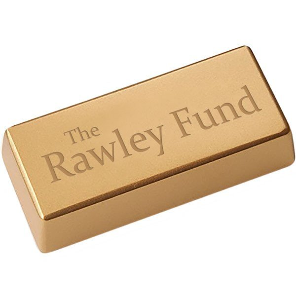 Gold Bar Stone Paperweight