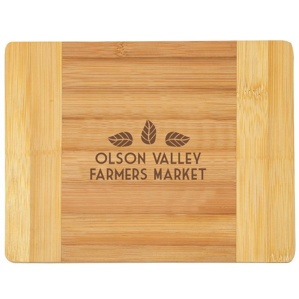 "Bamboo Cutting Board, 8"" x 6"""