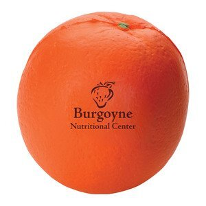 Orange Shaped Stress Reliever