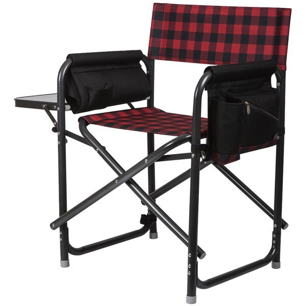 Outdoor Directors Folding Chair - Buffalo Plaid