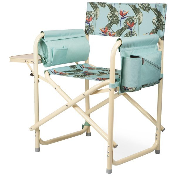 Outdoor Directors Folding Chair - Tropical Foliage
