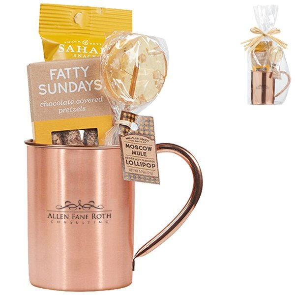 Kiev Moscow Mule Mug & Treat Gift Set