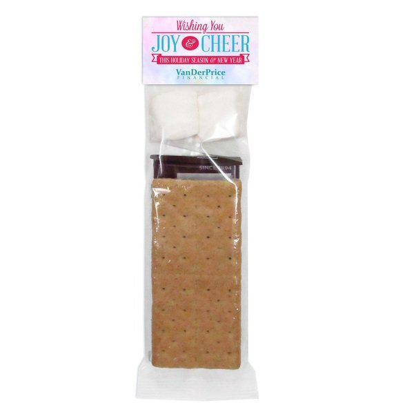 S'mores Kit 2 Serving Header Bag, Full Color Imprint
