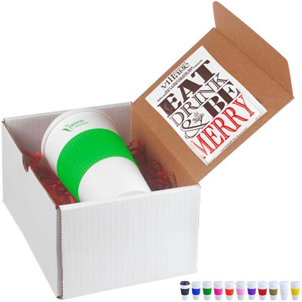 Brazilian Grip Tumbler & Hot Chocolate Gift Set
