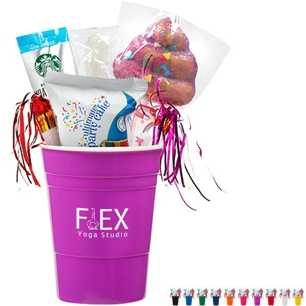 Let's Party Plastic Cup & Treat Gift Set