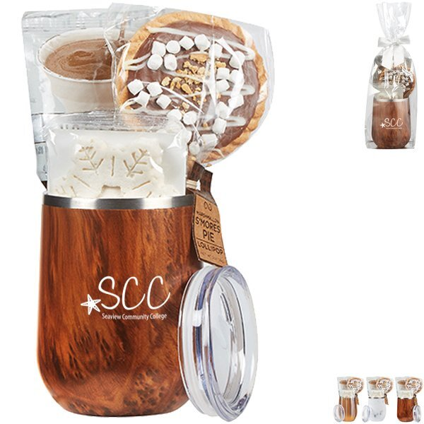 Joey Stainless Steel Tumbler & Hot Cocoa Gift Set - Colors