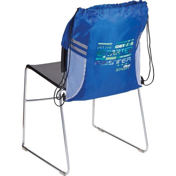 BackSac Sporty Nylon Drawstring Bag