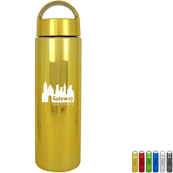 Arch Sleek Metallic Water Bottle, 24oz.