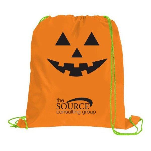 Pumpkin Polyester Sport Cinchpack
