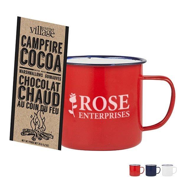 Camper Mug & Cocoa Gift Set