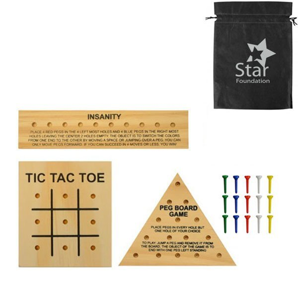 Wooden Teaser Puzzles Set