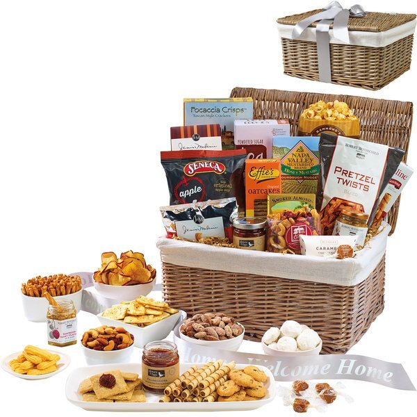 Gourmet Delights Keepsake Sweet & Savory Snack Basket