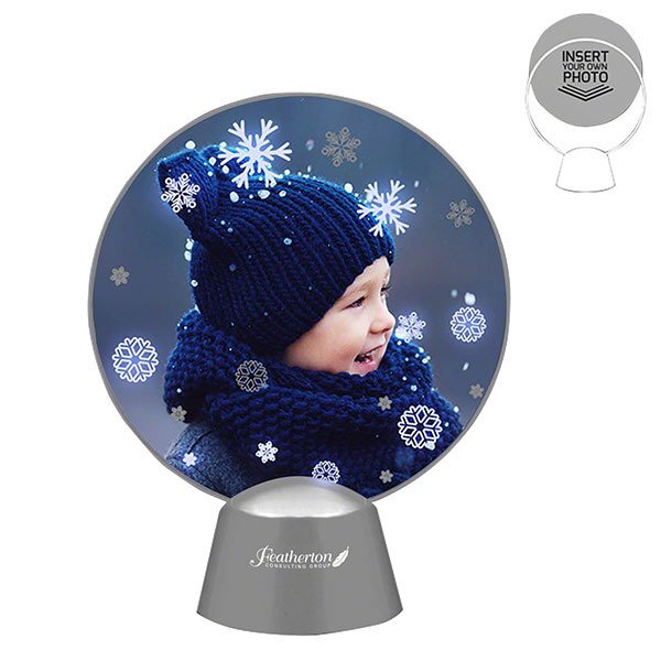 Animated LED Snowflakes Picture Frame