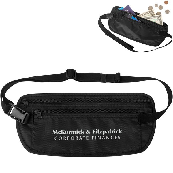 Safeguard Security Polyester RFID Waist Pack