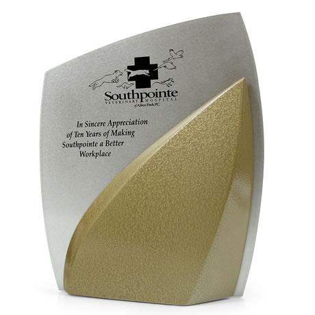 Tri Dimension Wave Award, 8 x 10