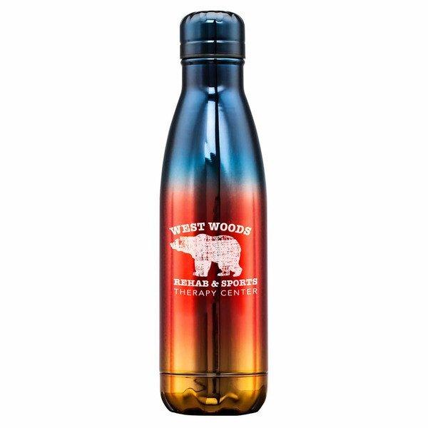 Clapton Stainless Steel Bottle, 17oz.
