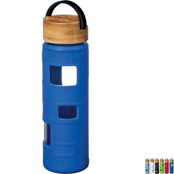 Astral Glass Bottle with Silicone Sleeve, 22oz.